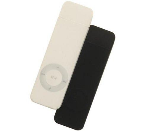 Etui silicone Jumpsuit PG21 noir/bleu  pour iPod shuffle 1G