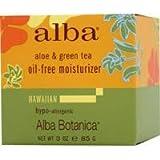 Alba Botanica Aloe & Green tea, Oil-Free Moisturizer, 3 Ounce (Pack of 6) by Alba Botanica