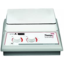 Thomas Ceramic Hot Plate, +5 to 500 Degrees C