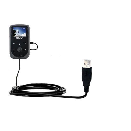 un-cable-usb-lisse-data-hotsync-pour-le-veho-muvi-hd-vcc-005-avec-la-fonction-charge-deux-fonctions-