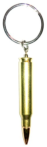5.56 / 223 winchester Bullet Keychain Military - cartridge Pendant standard (Chains Bullet compare prices)