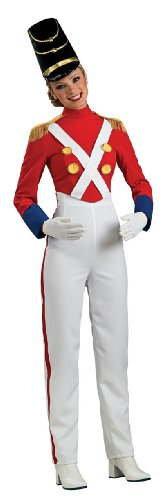 Rubie'S Costume Woman'S Christmas Toy Soldier Costume, Multicolor, Large
