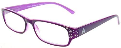 atlantic-eyewear-ae0027-occhiali-da-lettura-alla-moda-per-le-donne-viola-200-con-il-foderino