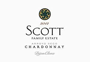 2012 Scott Family Estate Arroyo Seco Chardonnay 750 mL