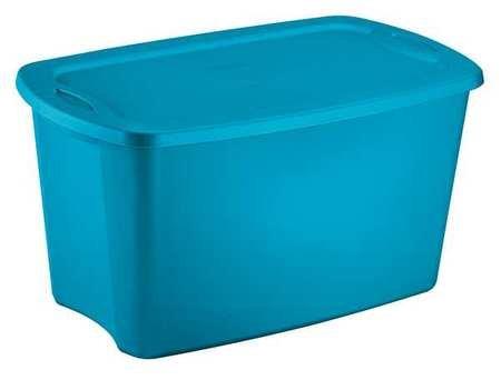 NEW Sterilite 18351006 Lidded 30 Gallon Storage Tote Box Single Bin Container (30 Gal Plastic Storage Containers compare prices)