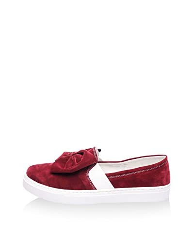 JustBow Slip-On [Bordeaux]