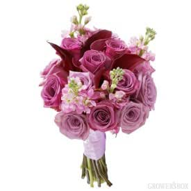 Lavender Wedding Flowers Collection 10 Piece Combo