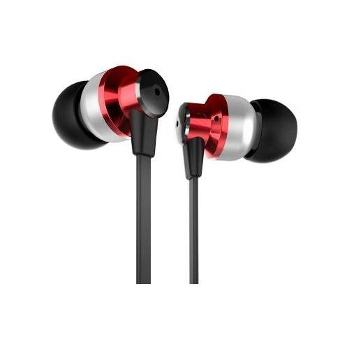 Zagg Zr-Six Earbud Headphones Stereo Red Mini-Phone Wired 32 Ohm 20 Hz 20 Khz Earbud Binaural In-Ear 3.94 Ft Cable