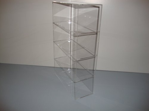 Acrylic Lucite Countertop Display Case Showcase Box Cabinet 9 1/2