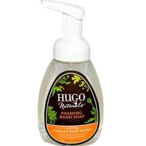 Hugo Naturals Foaming Hand Soap, Vanilla and Sweet Orange, 8.5-Ounce