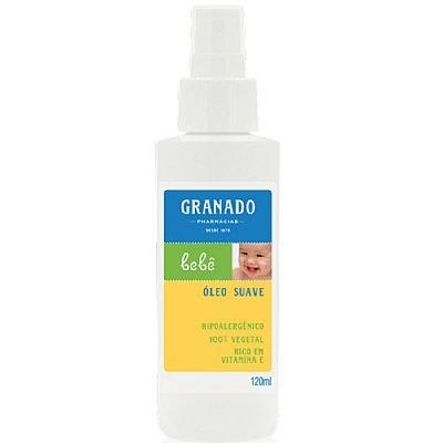 Linha Bebe Granado - Oleo Suave Tradicional 120 Ml - (Granado Baby Collection - Classic Delicate Oil 4.0 Fl Oz)