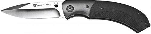 Browning Black Label Checkmate Knife - Black W/ Silver Blade 320143Blo