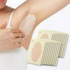 汗っかきさんに朗報ワキに直接貼る汗とりシート 汗パッド ワイド 20枚入り 直接貼るからズレにくく汗を直接吸収