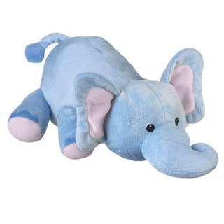 """Baby Wild Blue Elephant 12"""" By Wild Life Artist front-827825"""
