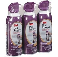 3M Dust Remover - Compressed Gas Duster - 10 oz - 3 Pack (051141253329)