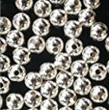 100 Sterling Silver Seamless Round Beads 3mm (Qty=100)