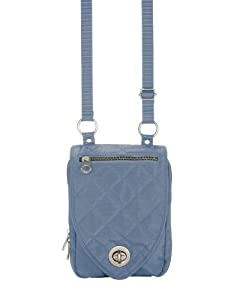 Baggallini Luggage Geneva Quilted Cross-Body Bag by Baggallini