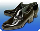 牛革製 ヒールアップ紳士靴