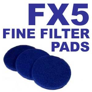 21 Fine Filter Pads for Fluval FX5 / FX6 by Zanyzap
