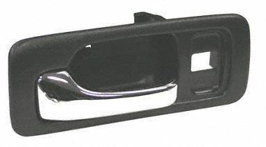 Save 90 93 honda accord front door handle lh driver side inside w lock hole black for 1993 honda civic interior door handle