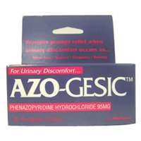 Buy Azo Gesic Urinary Pain Relief Tablets - 30 Ea (Azo, Health & Personal Care, Products, Health Care, Pain Relievers, Alternative Pain Relief)