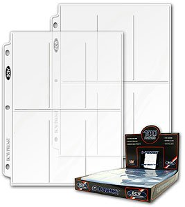 BCW Pro 6 Pocket Page 100 Ct. Box