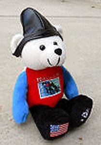 2002 USPS Postal Service Team USPS Cycling Bear Plush - 1