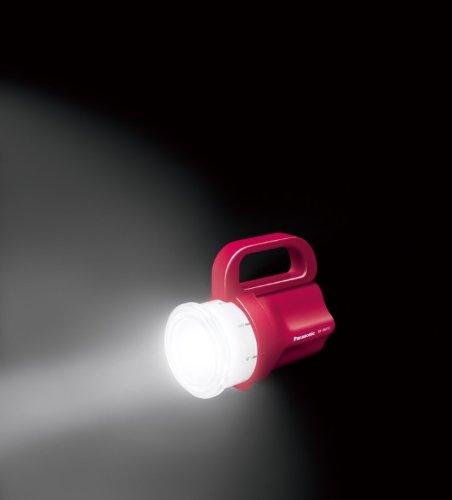 パナソニック 電池がどれでもライト レッド BF-BM10-R