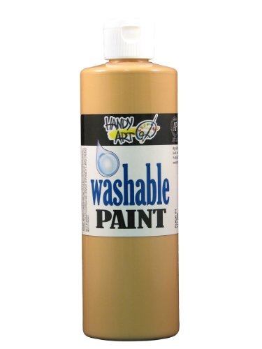 Handy Art by Rock Paint 211-000 Washable Paint 1, Peach, 16-Ounce - 1