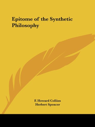 Epitome of the Synthetic Philosophy PDF
