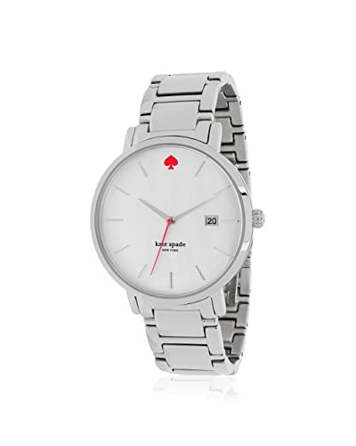 kate spade new york Women's 1YRU0008 Gramercy White Stainless Steel Watch