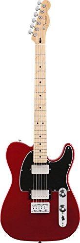 Fender Blacktop Hh Telecaster Electric Guitar, Maple Fingerboard - Candy Apple Red
