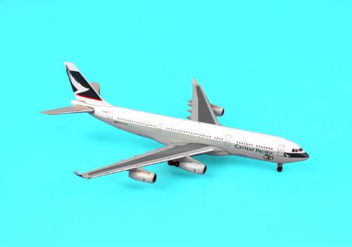 Jcwings Cathay A340-200 1/400 W/50TH Logo