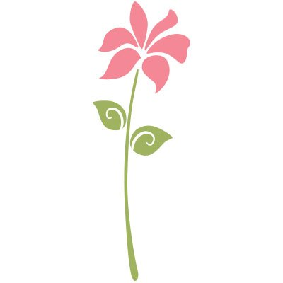 Poppy Flower Stencil For Painting Flowers On The Walls And Furniture Of A Floral Girls Room front-913855