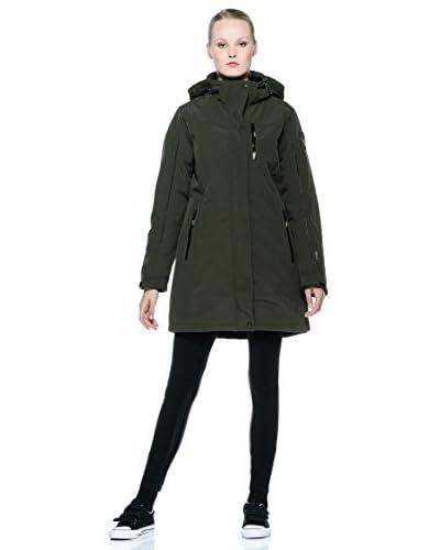Cmp F.lli Campagnolo Abrigo Woman Zip Hood