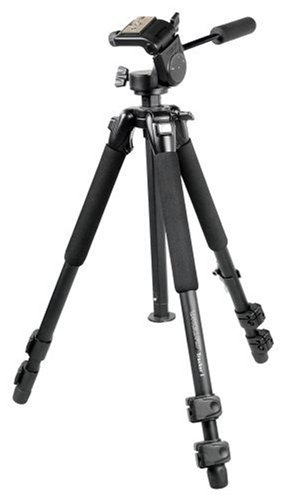 Vanguard Tracker-2 All Aluminum Alloy Tripod With 3-Way Panhead