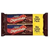 Mcvities Dark Chocolate Digestives Twin Pack 2X400g