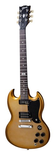 Gibson Usa Sgfao5Rc1 Sg Futura 2014 Solid-Body Electric Guitar - Bullion Gold Vintage Gloss