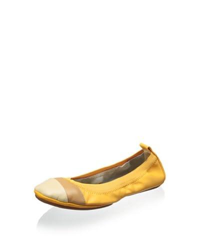 Yosi Samra Women's Cap Toe Ballet Flat