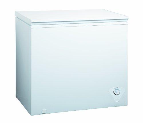 Equator Chest Freezer 7 Cubic Feet White Freezers