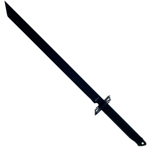 Whetstone Cutlery Rthomas Ninja Machete With Nylon Carrying Case Sword, Black