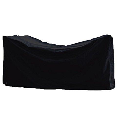 Robuste Schutzhülle für Sitzgruppe Wohngruppe aus starkem Polyestergewebe anthrazit 185x125x85