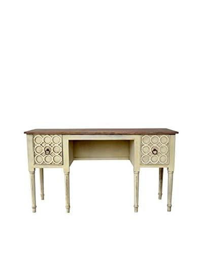 Leighton Dressing Table, Cream