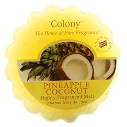 Colony Scented Wax Melt Pineapple Coconut - Ch0415 by Colony Candles