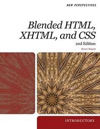 Blended Html, Xhtml, and CSS