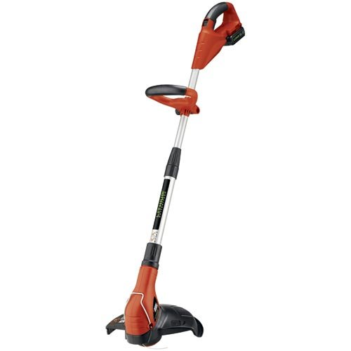Weed Eater Lawn Mower Manual Black Decker Lst1018 12 Inch 18 Volt Lithium Ion Cordless String Trimmer Edger With Quick Charger From Black Decker