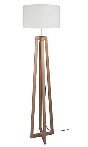 tosel-50906-lampadaire-aulne-bois-acier-60-w-e27-naturel-blanc