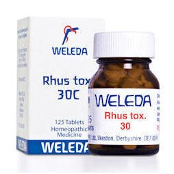 Weleda Rhus tox. 30C 125 Tablets
