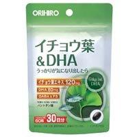 オリヒロ PD イチョウ葉&DHA 60粒