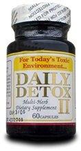 Detox II quotidiennes Detox 60 Caps